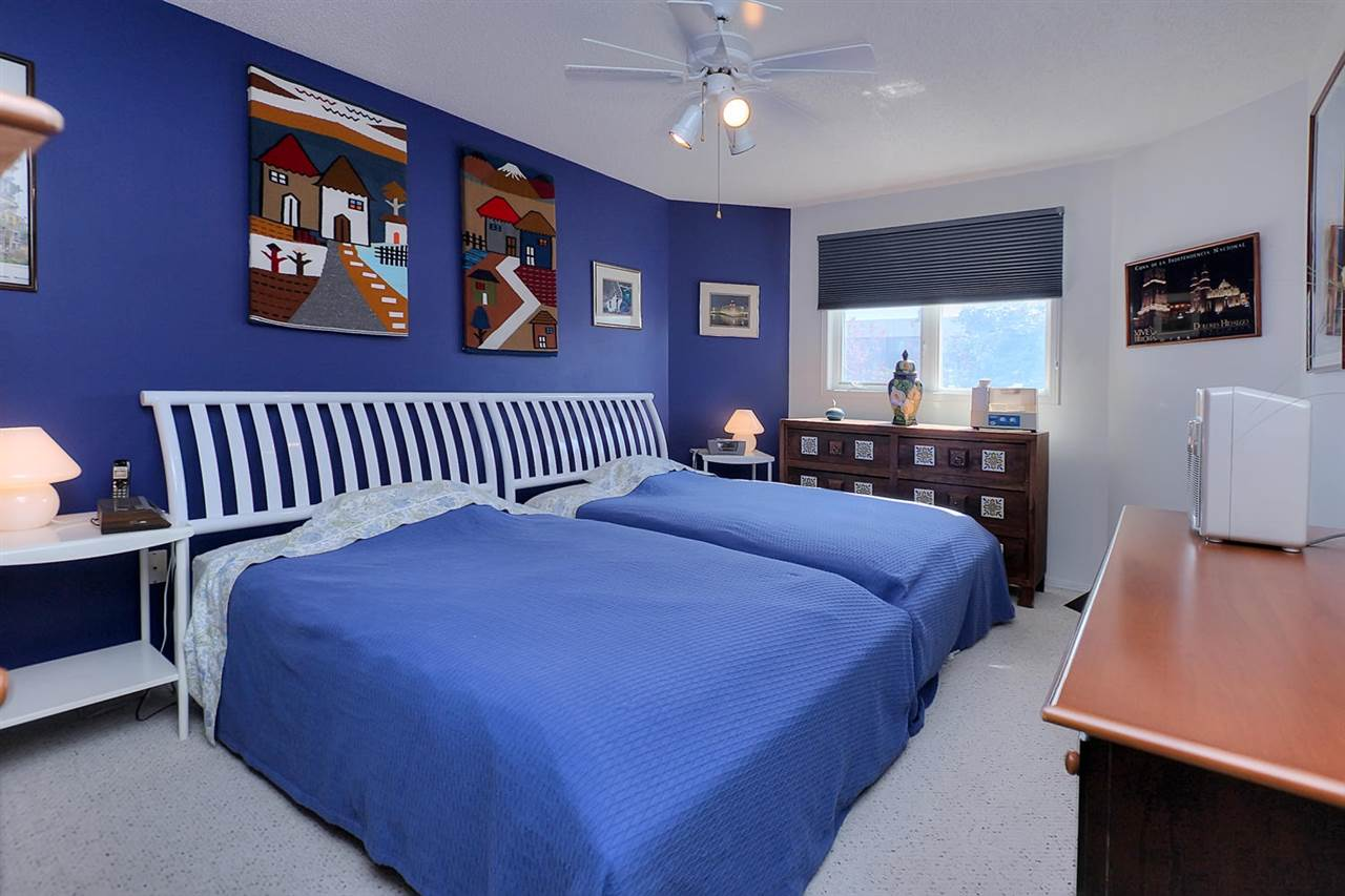The master bedroom is absolutely huge and will definitely accommodate a king bed & all your bedroom furniture.