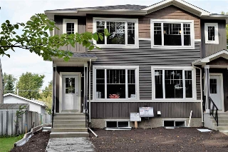 Main Photo: 12310 102 Street in Edmonton: Zone 08 House Half Duplex for sale : MLS® # E4077476