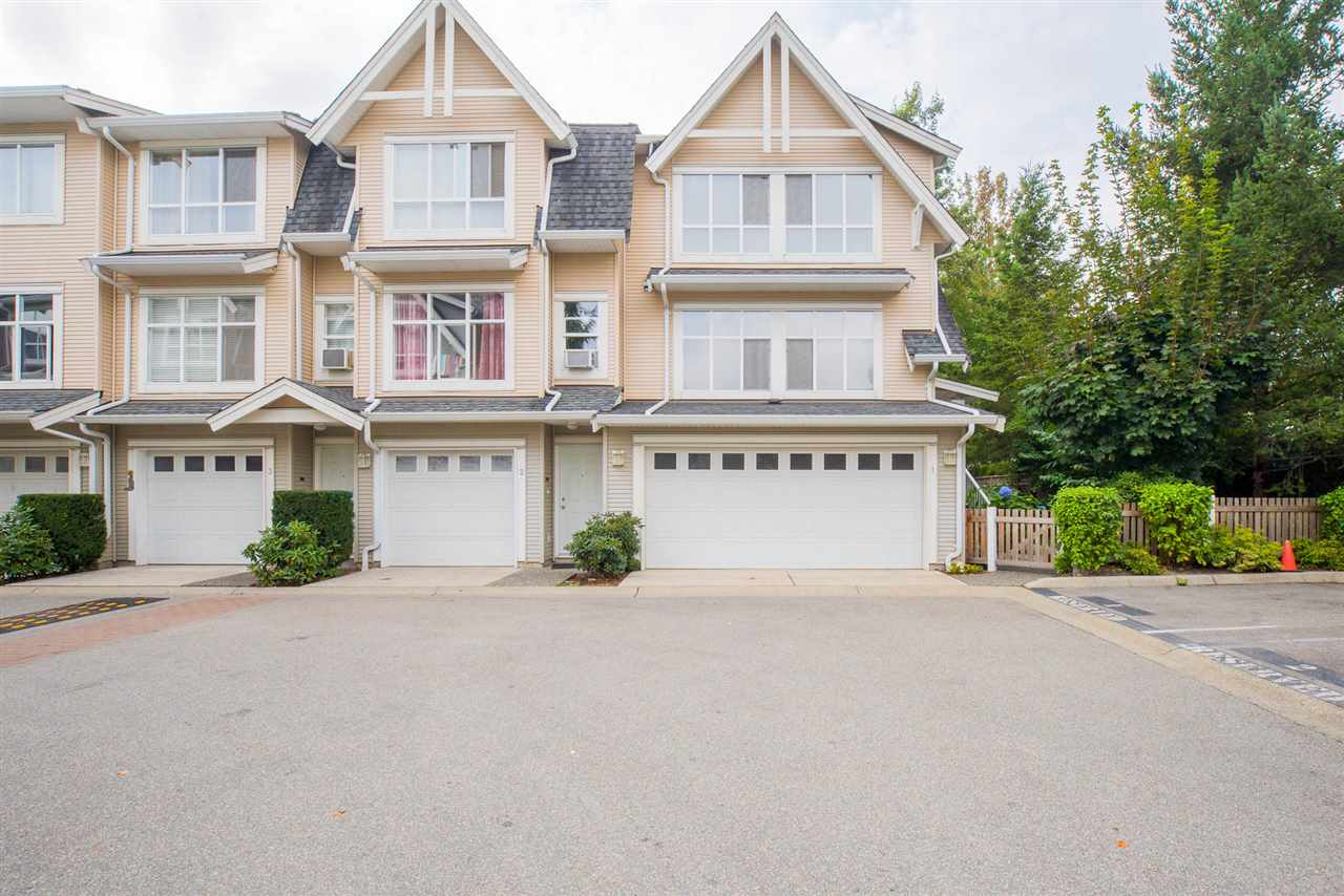 "Main Photo: 1 6415 197 Street in Langley: Willoughby Heights Townhouse for sale in ""LOGAN'S REACH"" : MLS®# R2203682"