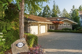 Main Photo: 4616 DECOURCY COURT in West Vancouver: Caulfeild House for sale : MLS®# R2202005