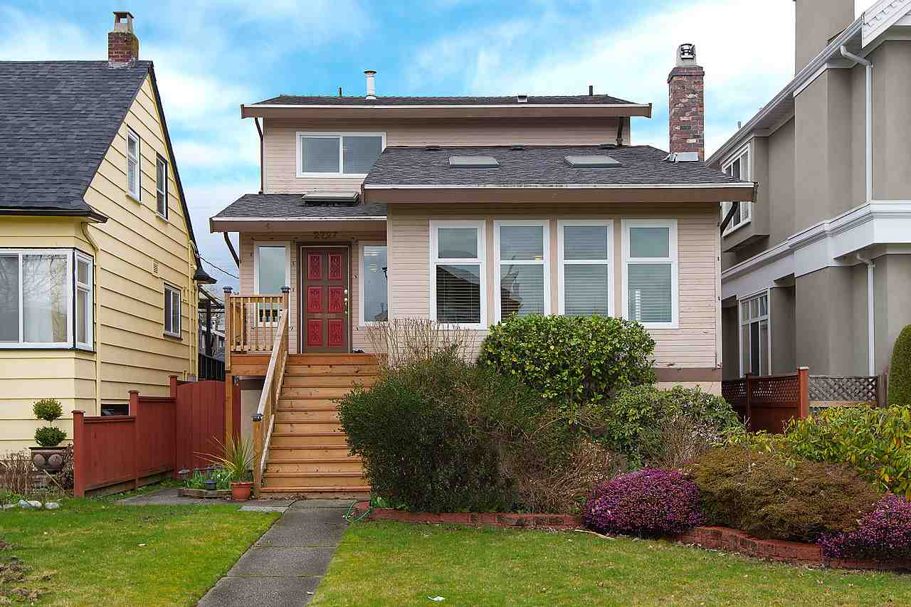 Main Photo: 2727 W 20TH AVENUE in : Arbutus House for sale : MLS® # R2041687