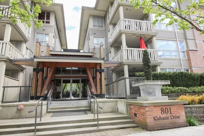 "Main Photo: 114 801 KLAHANIE Drive in Port Moody: Port Moody Centre Condo for sale in ""INGLENOOK"" : MLS®# R2234360"