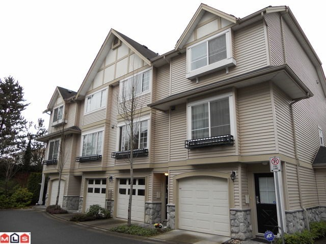 "Main Photo: 41 15488 101A Avenue in Surrey: Guildford Townhouse for sale in ""Cobblefield Lane"" (North Surrey)  : MLS® # F1108305"