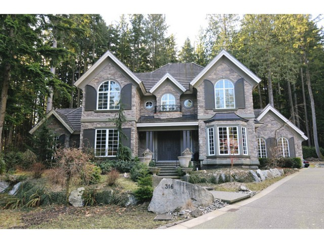 Main Photo: 316 FORESTVIEW Lane: Anmore House for sale (Port Moody)  : MLS® # V1046256