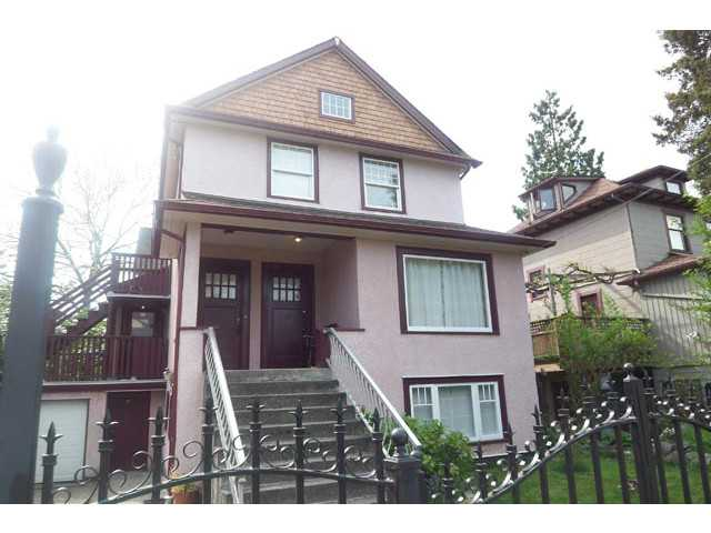 Main Photo: 1613 SALSBURY Drive in Vancouver: Grandview VE House for sale (Vancouver East)  : MLS® # V1102758