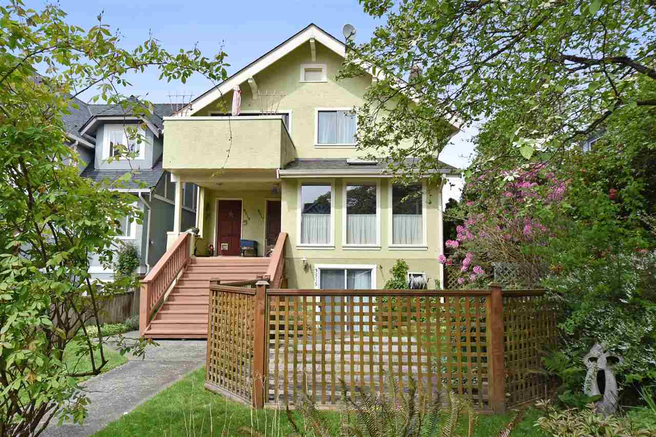 Main Photo: 3517 W 3RD Avenue in Vancouver: Kitsilano House for sale (Vancouver West)  : MLS® # R2064826