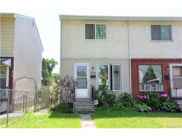 Main Photo: 578 Bannerman Avenue in Winnipeg: Residential for sale (4C)  : MLS® # 1708235
