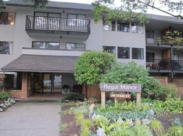 "Main Photo: 109 316 CEDAR Street in New Westminster: Sapperton Condo for sale in ""Regal Manor"" : MLS® # R2167909"