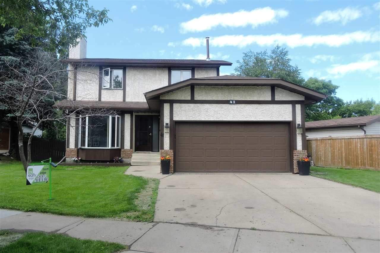 Main Photo: 41 Patterson Crescent: St. Albert House for sale : MLS® # E4069730