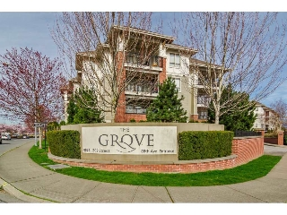 "Main Photo: A410 8929 202 Street in Langley: Walnut Grove Condo for sale in ""THE GROVE"" : MLS® # R2180325"