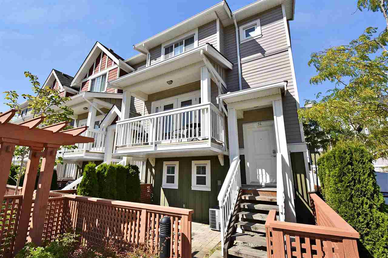 "Main Photo: 14 4360 MONCTON Street in Richmond: Steveston South Townhouse for sale in ""COSTA VILLA"" : MLS® # R2217259"