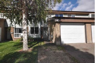 Main Photo: 240 Grandin Village: St. Albert Townhouse for sale : MLS®# E4111439