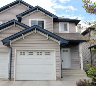 Main Photo: 1889 RUTHERFORD Road in Edmonton: Zone 55 House Half Duplex for sale : MLS®# E4116780