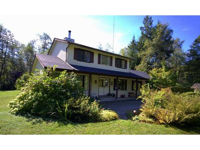 Main Photo: 27850 112TH Avenue in Maple Ridge: Whonnock House for sale : MLS®# V911698