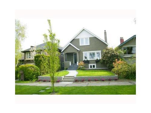 Main Photo: 3830 18TH Ave W in Vancouver West: Dunbar Home for sale ()  : MLS® # V934696