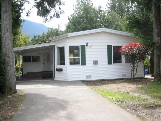 Photo 2: 27 52324 YALE Road in Chilliwack: Rosedale Popkum Manufactured Home for sale (Rosedale)  : MLS® # H1401734
