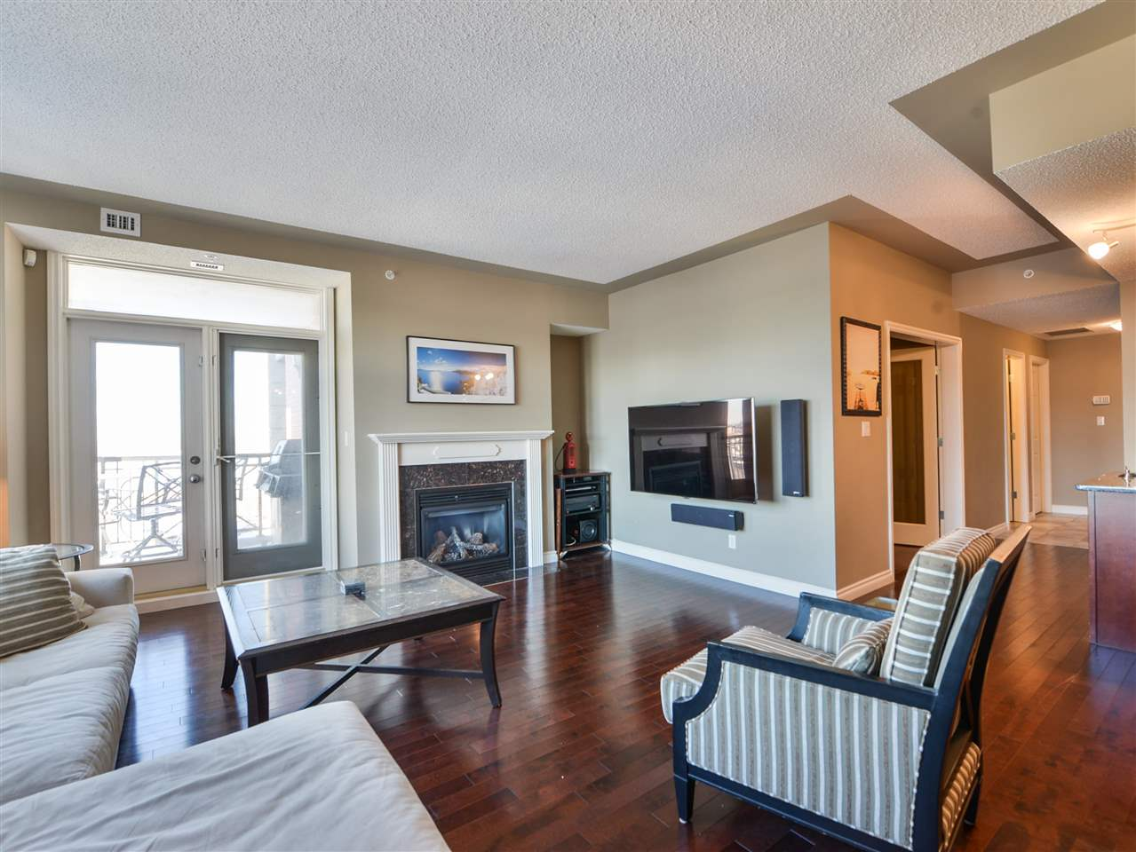 Photo 14: 1007 9020 Jasper Avenue Edmonton Downtown Condo One Bed & Den E4046832