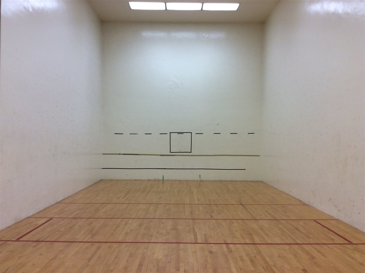 Racket ball court