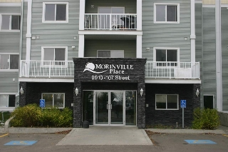 Main Photo: 402 9910 107 Street: Morinville Condo for sale : MLS(r) # E4054061
