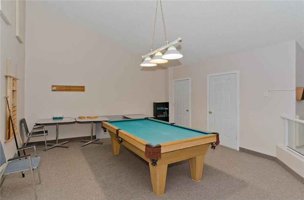 Common Area:  Pool Table.  Gather here with friends and family and enjoy your visit playing games!