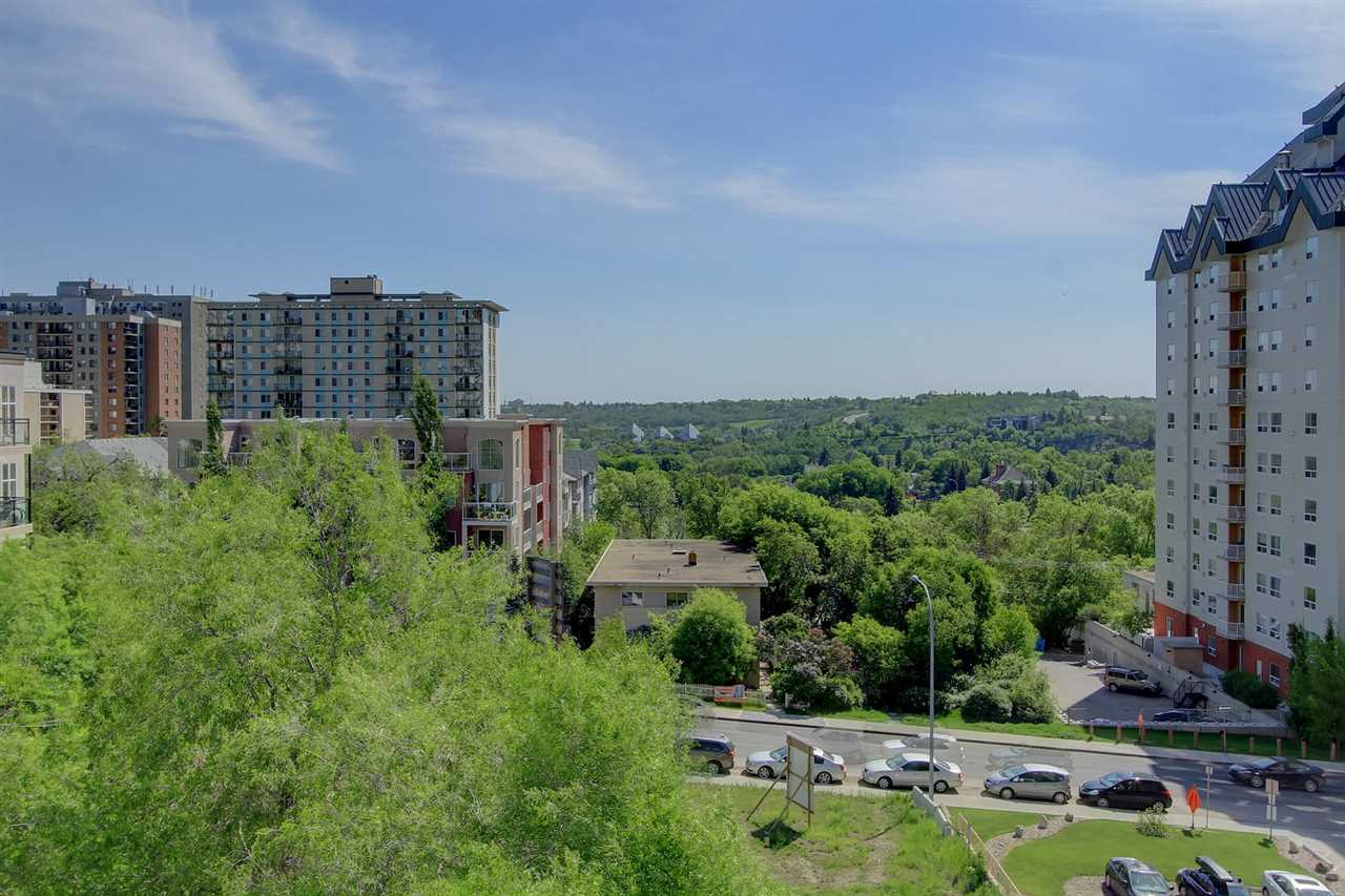 Main Photo: 9725 106 ST NW in Edmonton: Zone 12 Condo for sale