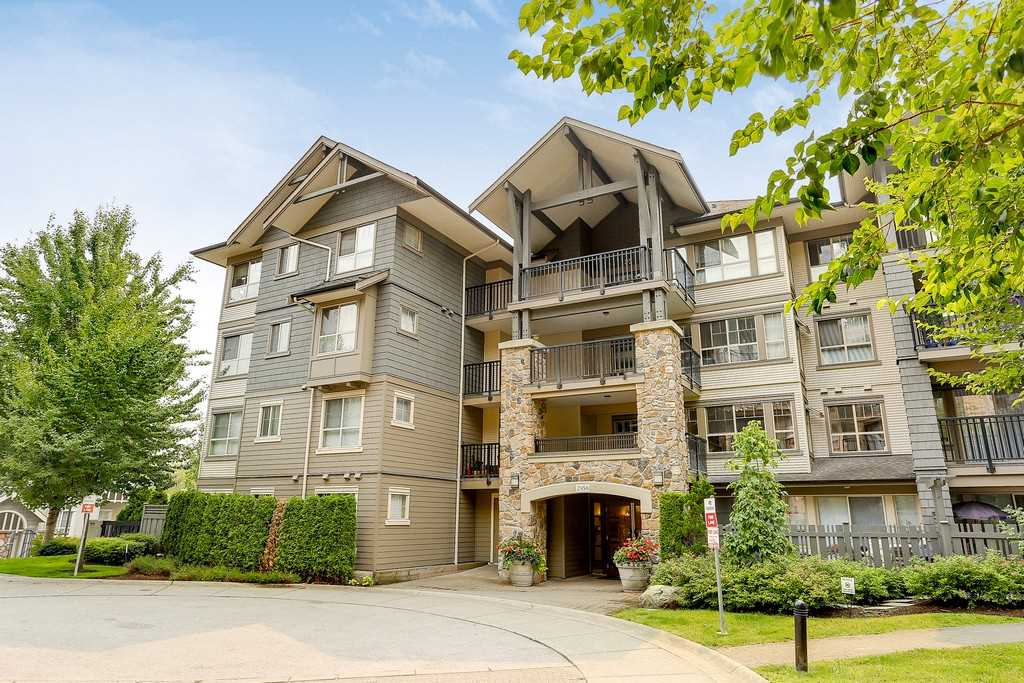 "Main Photo: 404 2958 WHISPER Way in Coquitlam: Westwood Plateau Condo for sale in ""SUMMERLIN"" : MLS® # R2195414"