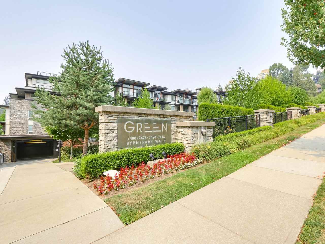 "Main Photo: 602 7488 BYRNEPARK Walk in Burnaby: South Slope Condo for sale in ""GREEN"" (Burnaby South)  : MLS® # R2196955"