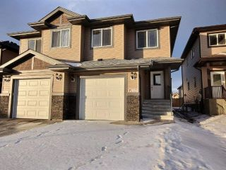 Main Photo: 15110 31 Street in Edmonton: Zone 35 House Half Duplex for sale : MLS® # E4094035