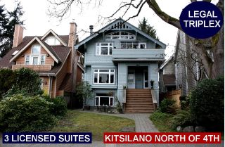 Main Photo: 3663 W 2ND Avenue in Vancouver: Kitsilano House for sale (Vancouver West)  : MLS®# R2253139