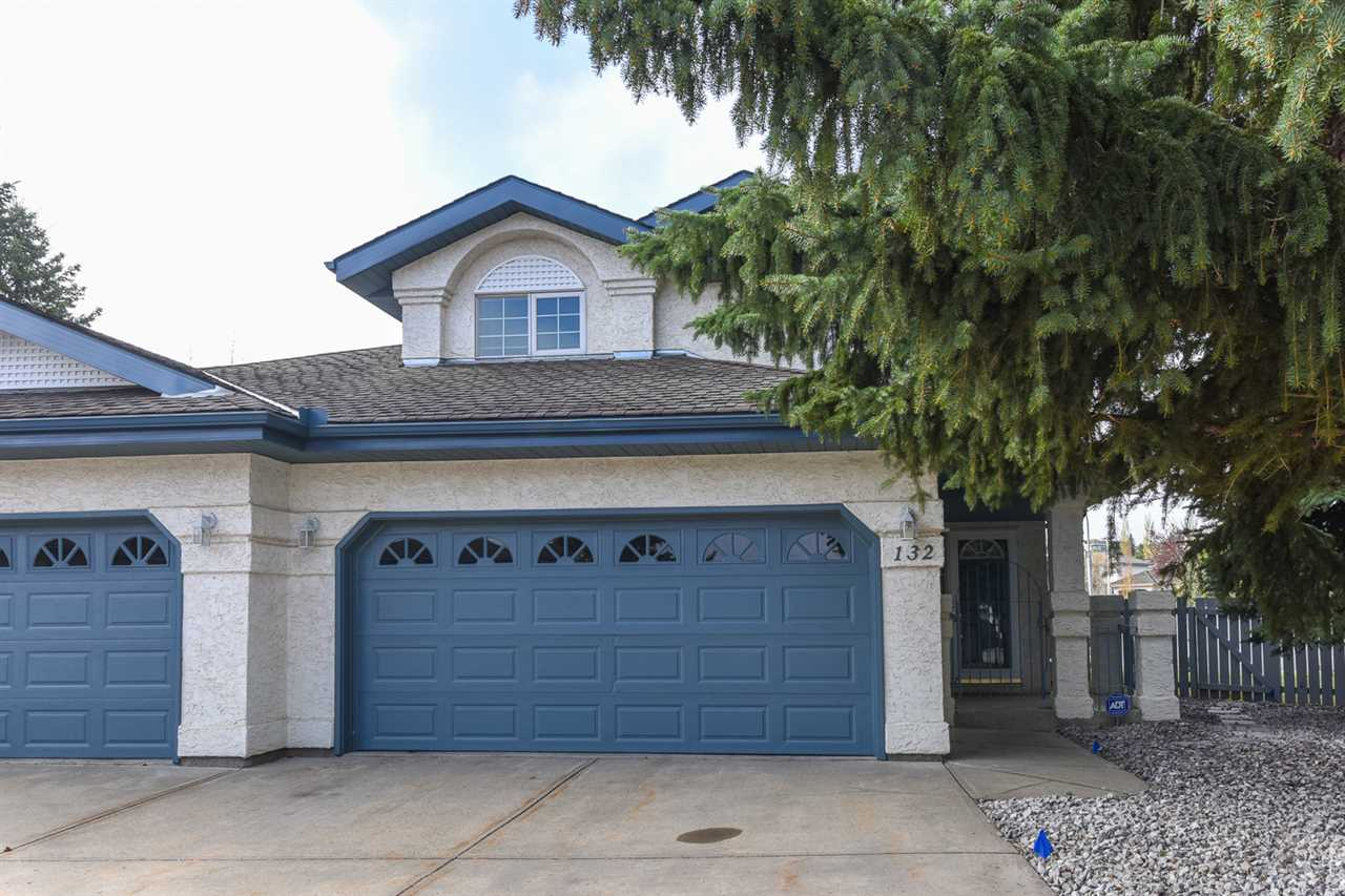Main Photo: 132 OEMING Road in Edmonton: Zone 14 House Half Duplex for sale : MLS®# E4110979