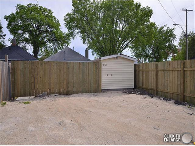 Photo 20: Photos: 651 Manhattan Avenue in WINNIPEG: East Kildonan Single Family Detached for sale (North East Winnipeg)  : MLS® # 1311281
