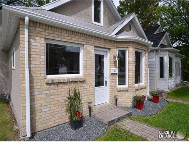 Photo 2: Photos: 651 Manhattan Avenue in WINNIPEG: East Kildonan Single Family Detached for sale (North East Winnipeg)  : MLS® # 1311281