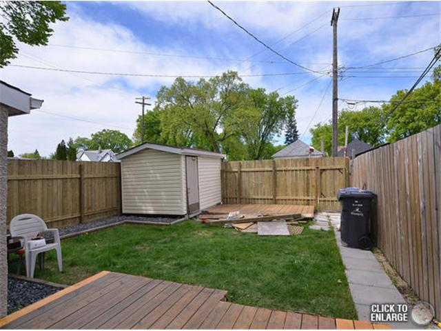 Photo 18: Photos: 651 Manhattan Avenue in WINNIPEG: East Kildonan Single Family Detached for sale (North East Winnipeg)  : MLS® # 1311281