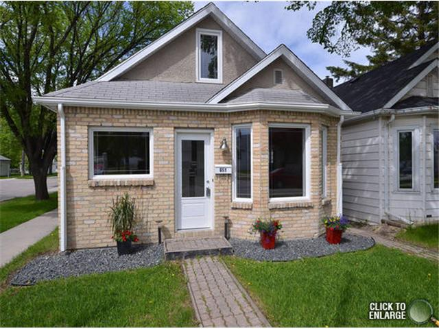 Main Photo: 651 Manhattan Avenue in WINNIPEG: East Kildonan Single Family Detached for sale (North East Winnipeg)  : MLS®# 1311281