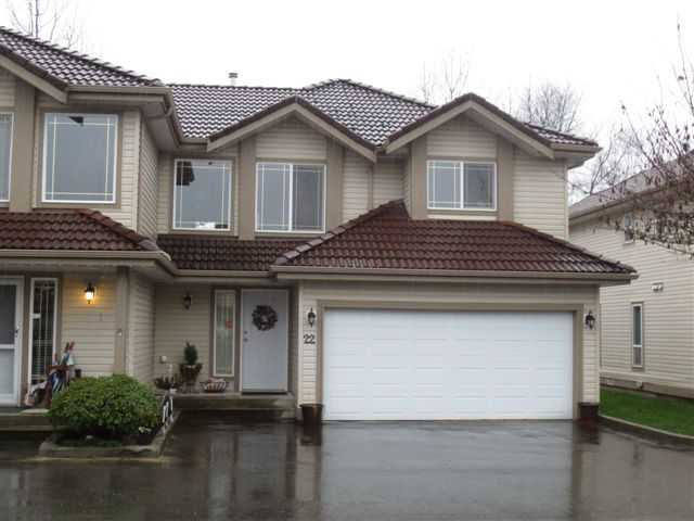 Main Photo: A22 3075 Skeena in Port Coquitlam: Townhouse for sale : MLS(r) # v991528