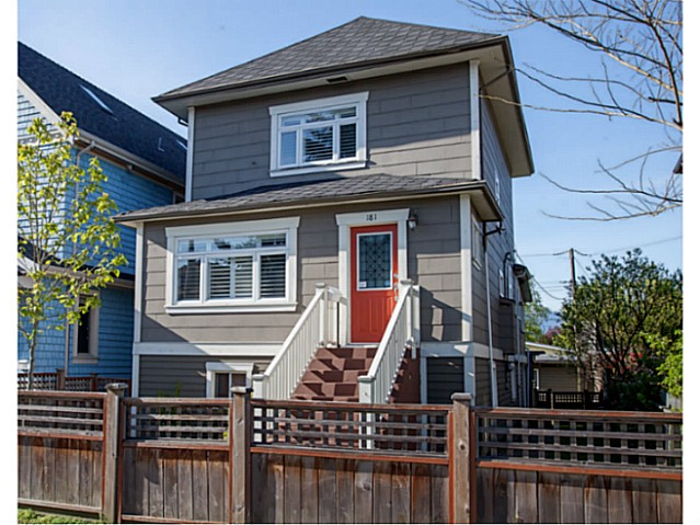 Main Photo: 181 E 22ND Avenue in Vancouver: Main House for sale (Vancouver East)  : MLS® # V1062748