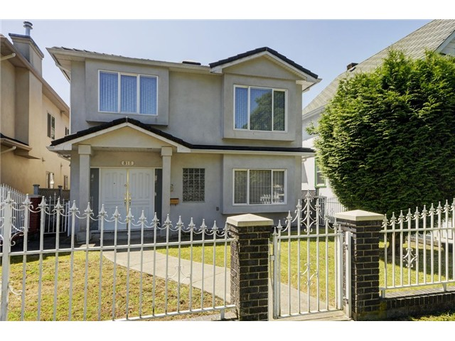 "Main Photo: 818 E 20TH Avenue in Vancouver: Fraser VE House for sale in ""FRASER"" (Vancouver East)  : MLS® # V1069306"