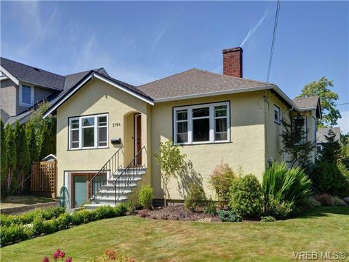 Main Photo: 2194 Bartlett Avenue in VICTORIA: OB South Oak Bay Single Family Detached for sale (Oak Bay)  : MLS® # 352275
