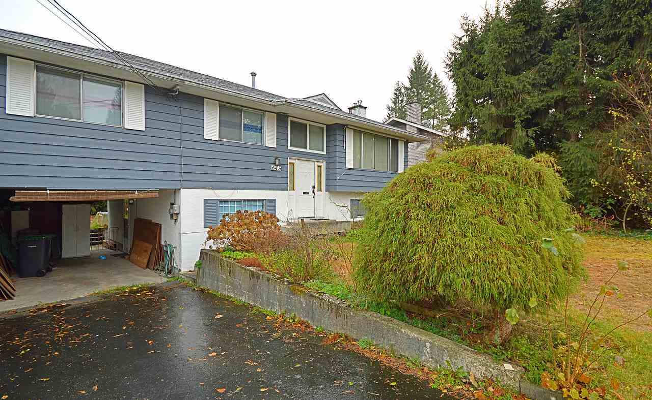 Main Photo: 645 CYPRESS Street in Coquitlam: Central Coquitlam House for sale : MLS®# R2017158