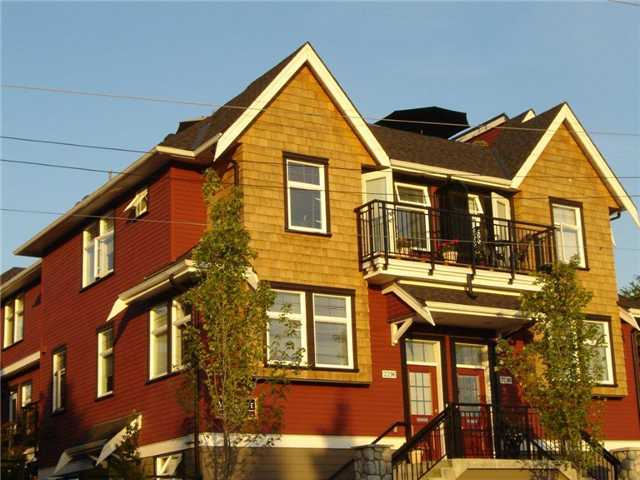 Main Photo: 2296 St. George Street in Mount Pleasant: Home for sale : MLS®#  V869396