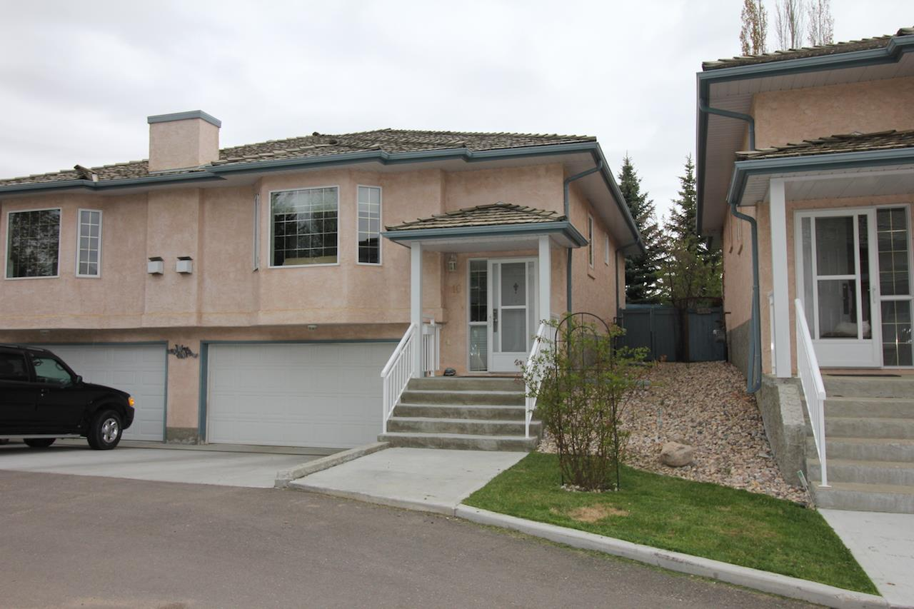 Main Photo: 10, 30 Giroux Road: St. Albert Townhouse for sale : MLS(r) # E4059970