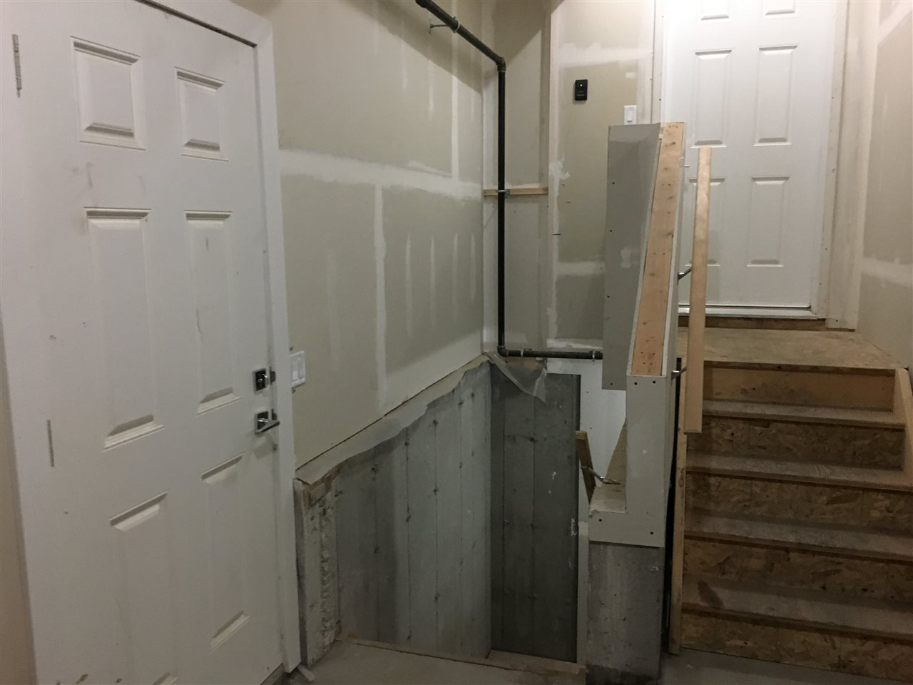 separate entrance to the garage and basement perfect for a fully legal suite.