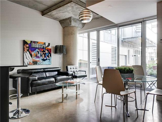 Main Photo: 145 201 Carlaw Avenue in Toronto: South Riverdale Condo for sale (Toronto E01)  : MLS® # E3891913