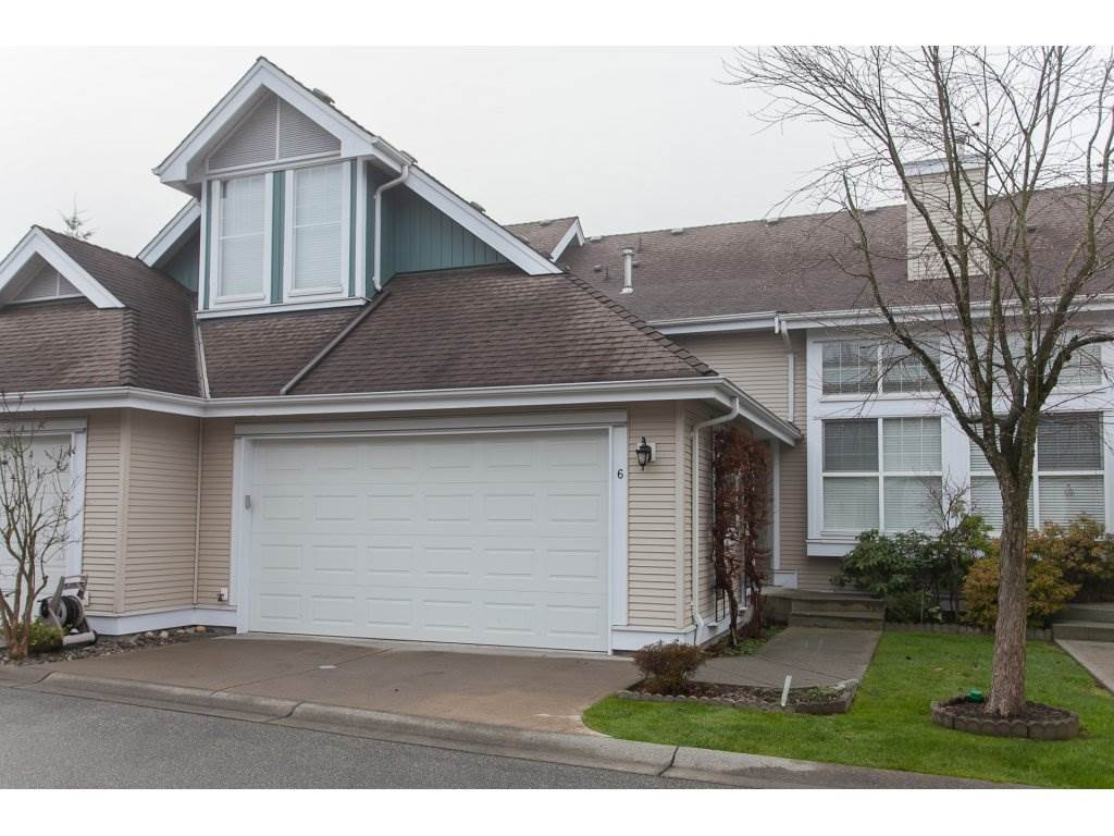"Main Photo: 6 16995 64TH Avenue in Surrey: Cloverdale BC Townhouse for sale in ""The Lexington"" (Cloverdale)  : MLS®# R2227739"