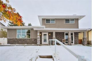 Main Photo: 947 CANAVERAL Crescent SW in Calgary: Canyon Meadows House for sale : MLS® # C4150566