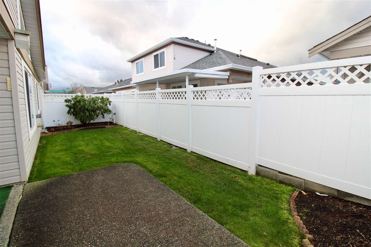 "Photo 15: Photos: 139 8485 YOUNG Road in Chilliwack: Chilliwack W Young-Well House 1/2 Duplex for sale in ""HAZELWOOD GROVE"" : MLS® # R2234130"
