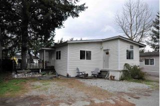 "Main Photo: 2 41639 LOUGHEED Highway in Mission: Dewdney Deroche Manufactured Home for sale in ""Evergreen Estates"" : MLS®# R2248968"