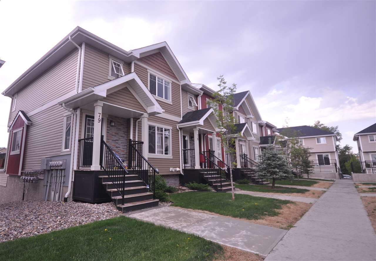 Main Photo: 79 9535 217 Street NW in Edmonton: Zone 58 Townhouse for sale : MLS®# E4102118