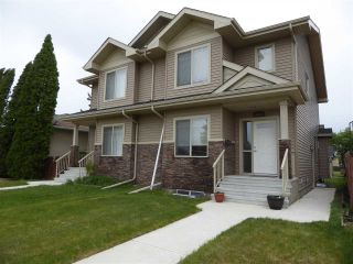 Main Photo: 10331 158 Street NW in Edmonton: Zone 21 House Half Duplex for sale : MLS®# E4116037
