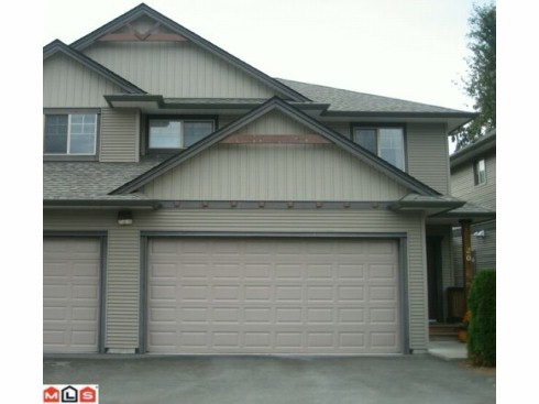 "Main Photo: 20 7543 MORROW Road: Agassiz Townhouse for sale in ""TANGLEBERRY LANE"" : MLS®# H1104392"